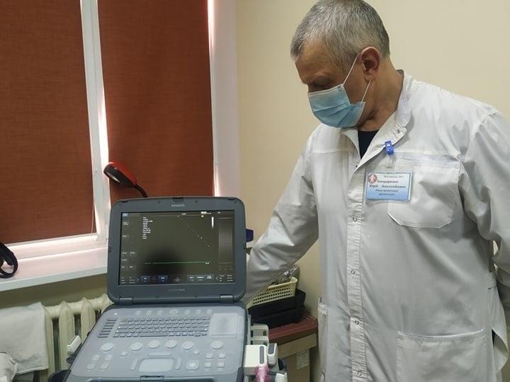 Монтаж нового апарату ультразвукої діагностики фірми  Siemens